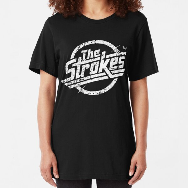 The Stroke - White Style Slim Fit T-Shirt