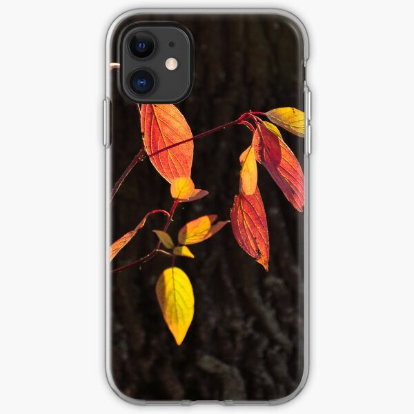 Red, Yellow and Bark iPhone Soft Case