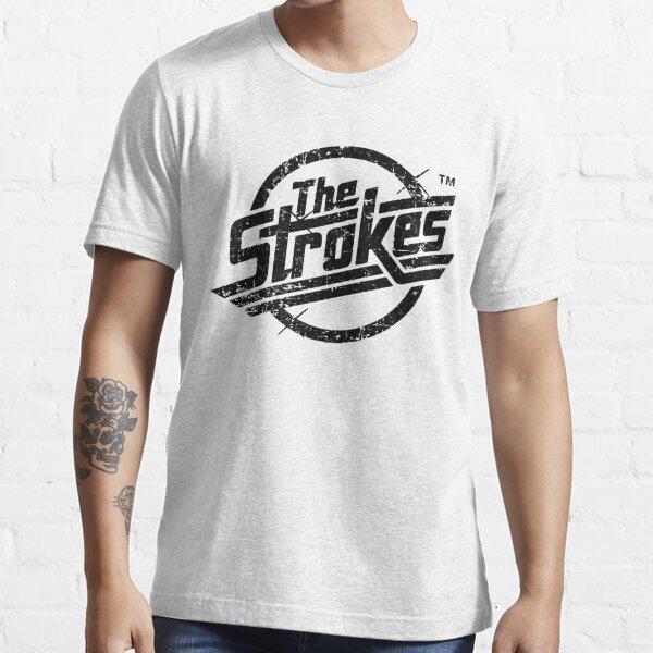 The Stroke - Style Noir T-shirt essentiel