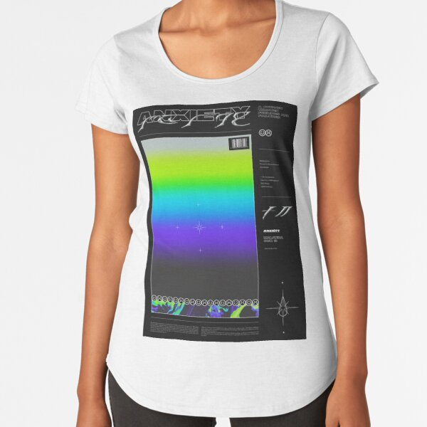 SHADES ⏤ ANXIETY Premium Scoop T-Shirt