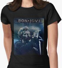 bon jovi live tour 2018 2019 telulas Women's Fitted T-Shirt