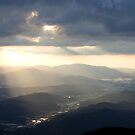 Taken from Geumosan Mountain - North Gyeongsang Province - South Korea by partimesloth