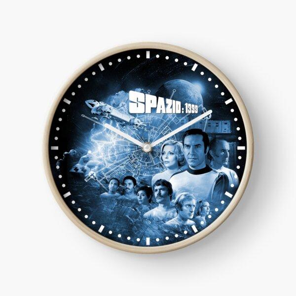 ALPHAN BLUE MOON 1 SPAZIO: 1999 LOGO Clock