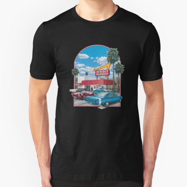 in n out logo Slim Fit T-Shirt