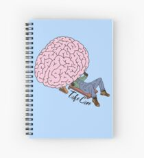 Mental Health (Take Care)  Spiral Notebook