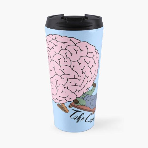 Mental Health (Take Care)  Travel Mug