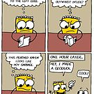 Fred the Mustard Packet Tries Origami by TommyCannon