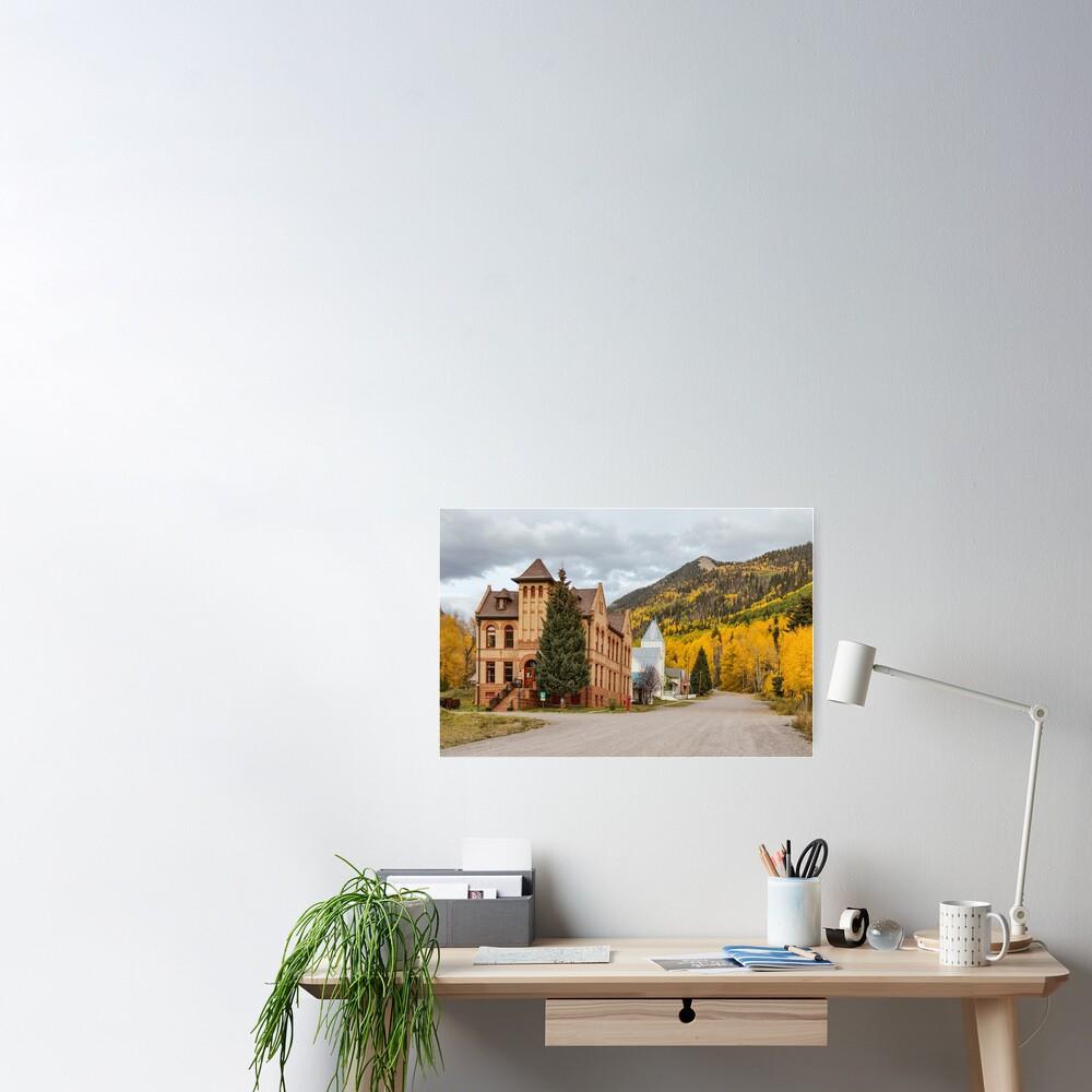 Beautiful Small Town Rico Colorado Poster