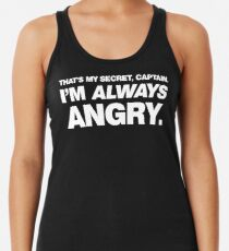 I'm ALWAYS Angry Women's Tank Top
