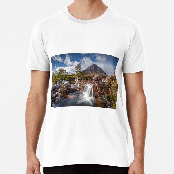 Etive Mor Falls Premium T-Shirt