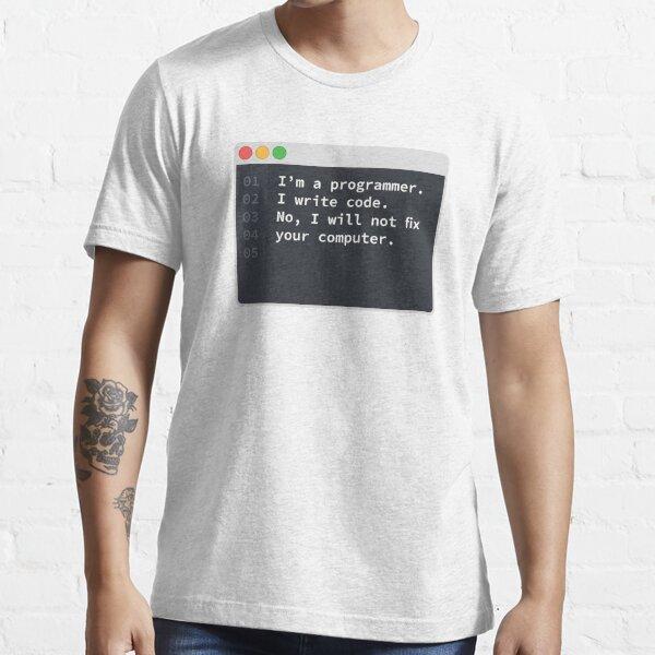 Soy un programador Camiseta esencial