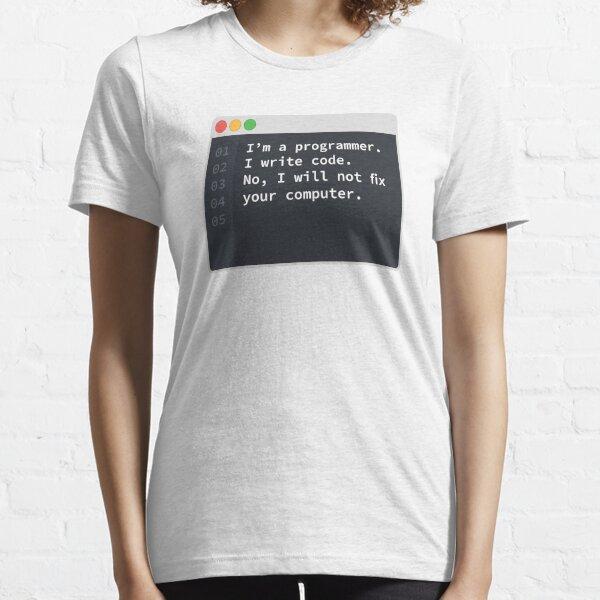 I Am A Programmer Essential T-Shirt