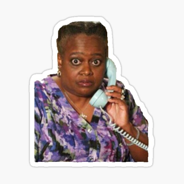 Andre's grandma from Victorious Sticker