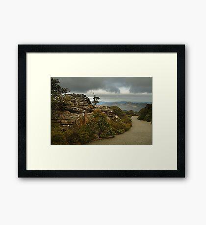 Mt William Grampians  Framed Print