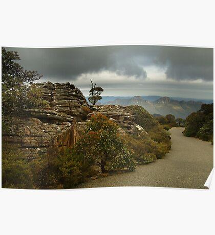 Mt William Grampians  Poster