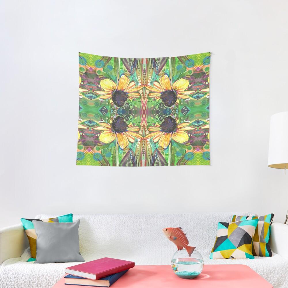 Black-eyed Susan Painting - 2018 Tapestry