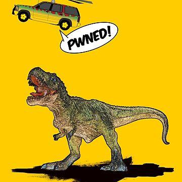 Pwned T-Rex by mattskilton