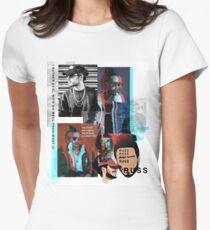 Russ Rapper Fan Art & Merch Women's Fitted T-Shirt