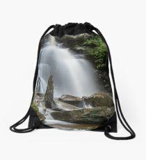 Ricketts Glen Waterfall Drawstring Bag