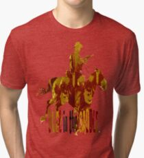 Duel in the Saddle 2  Tri-blend T-Shirt