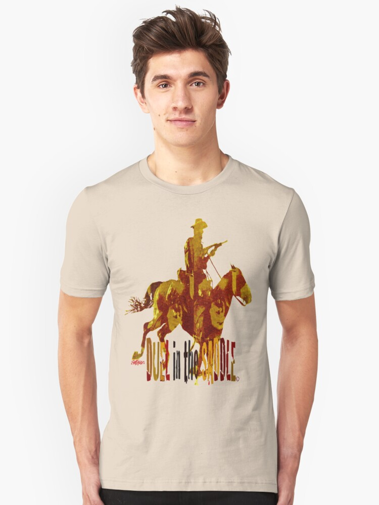 Duel in the Saddle 2  Unisex T-Shirt Front