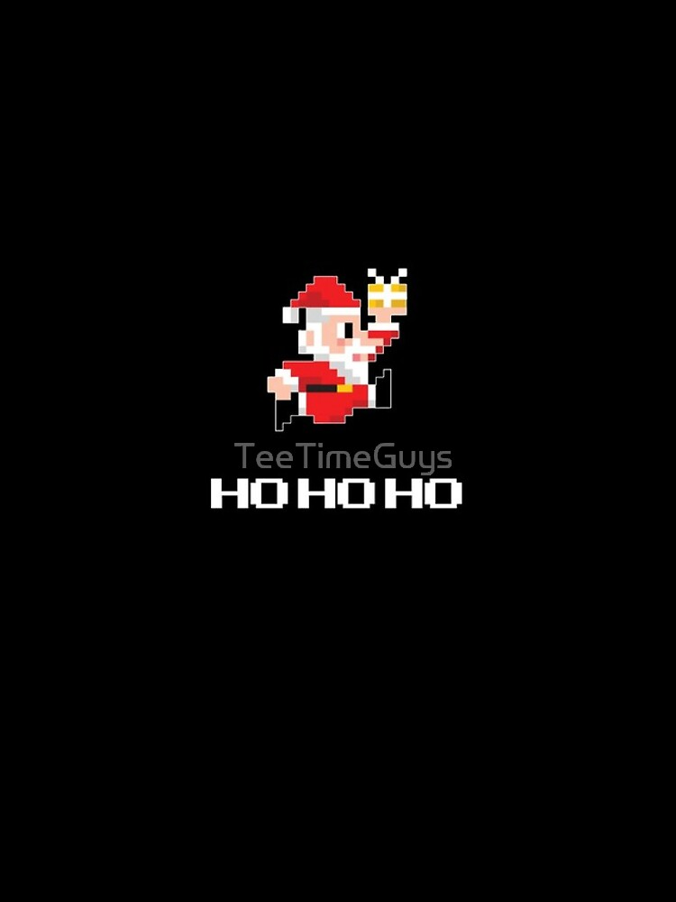 8-Bit Weihnachtsmann von TeeTimeGuys