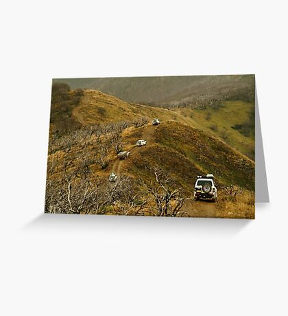 Mt Blue Rag,Victorian High Country Greeting Card
