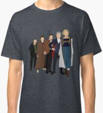 Doctor Who - All Five Modern Doctors - New Costume! (DW Inspired) - 13th Doctor Classic T-Shirt