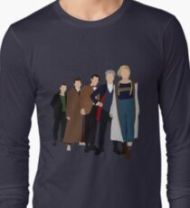 Doctor Who - All Five Modern Doctors - New Costume! (DW Inspired) - 13th Doctor Long Sleeve T-Shirt