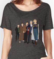 Doctor Who - All Five Modern Doctors - New Costume! (DW Inspired) - 13th Doctor Women's Relaxed Fit T-Shirt