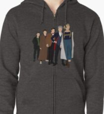 Doctor Who - All Five Modern Doctors - New Costume! (DW Inspired) - 13th Doctor Zipped Hoodie