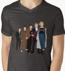 Doctor Who - All Five Modern Doctors - New Costume! (DW Inspired) - 13th Doctor Men's V-Neck T-Shirt
