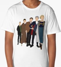Doctor Who - All Five Modern Doctors - New Costume! (DW Inspired) - 13th Doctor Long T-Shirt