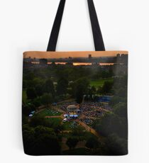 Comedy of Errors - Sunset from Above Tote Bag