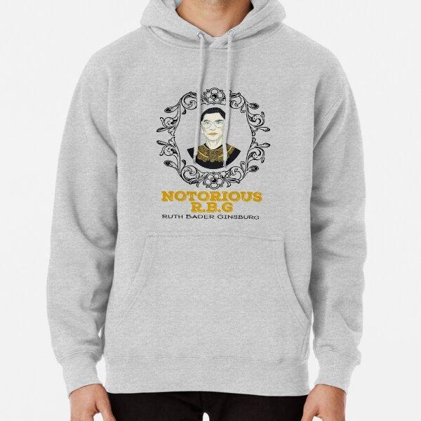 Notorious RBG Ruth Bader Ginsburg T-Shirt Pullover Hoodie