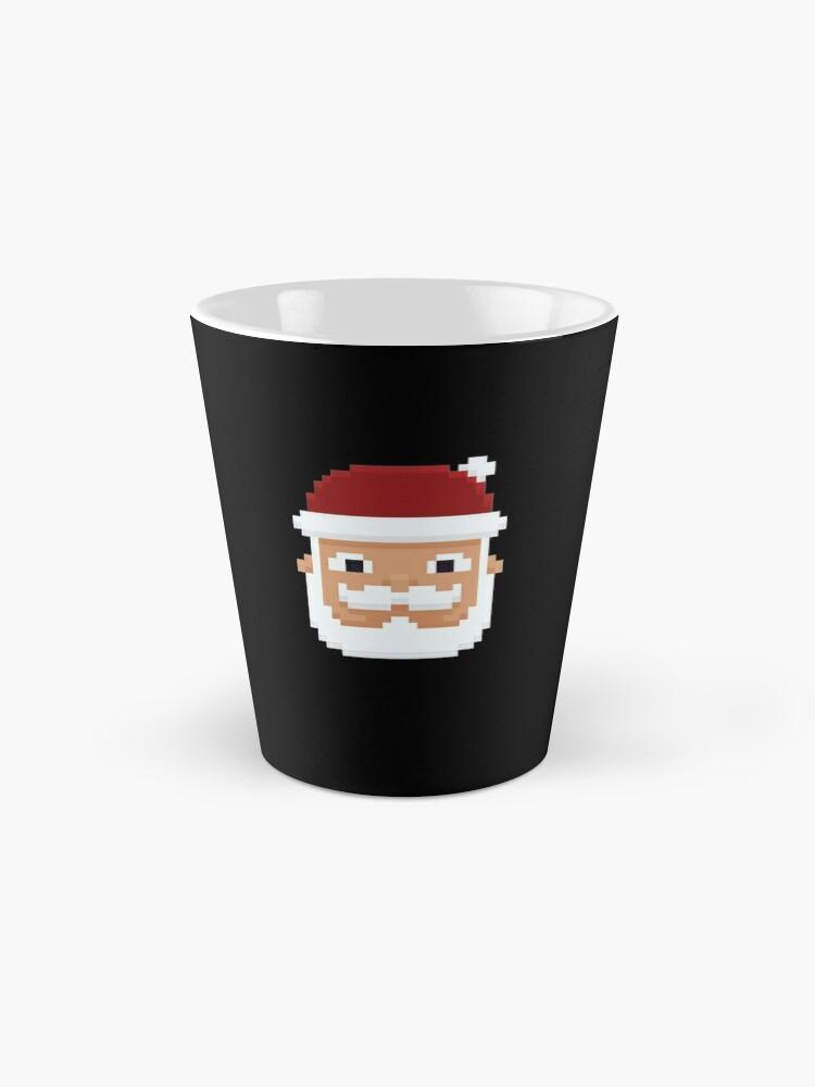 Alternative Ansicht von 8-Bit Weihnachtsmann V5 Tassen