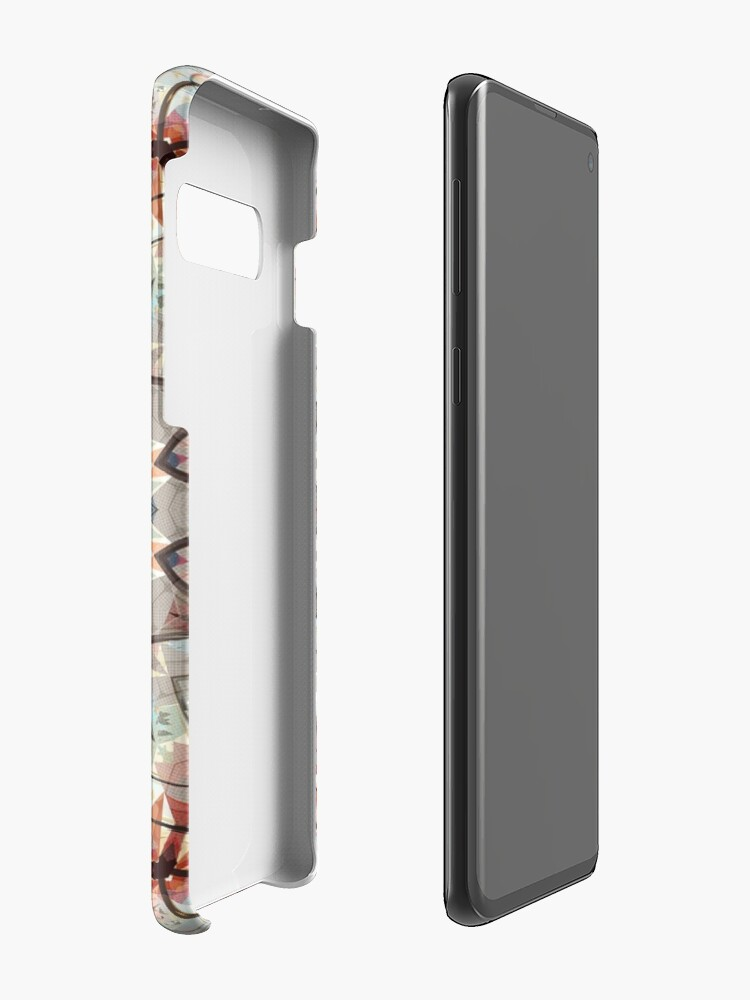 Alternate view of Autumn Colors Abstract Case & Skin for Samsung Galaxy