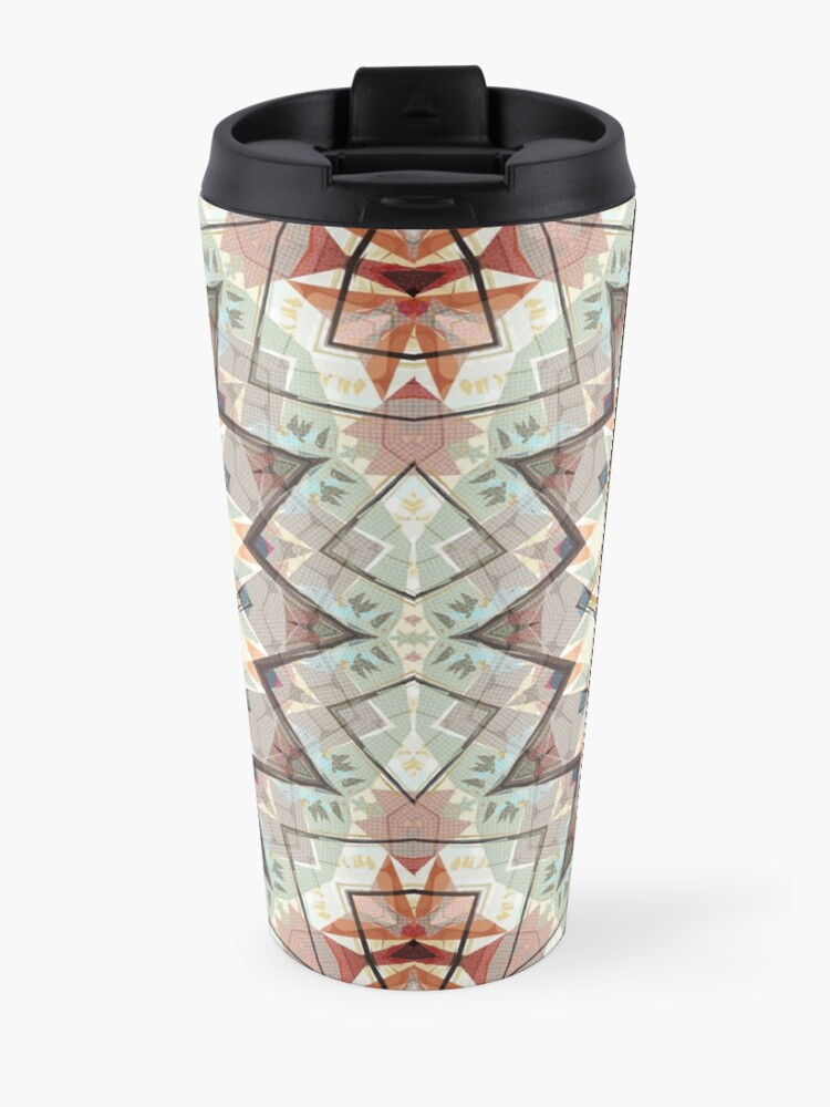 Alternate view of Autumn Colors Abstract Travel Mug