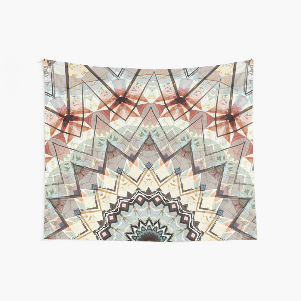 Autumn Colors Abstract Wall Tapestry
