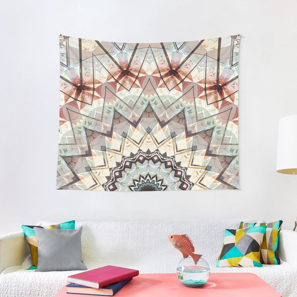 Autumn Colors Abstract Tapestry