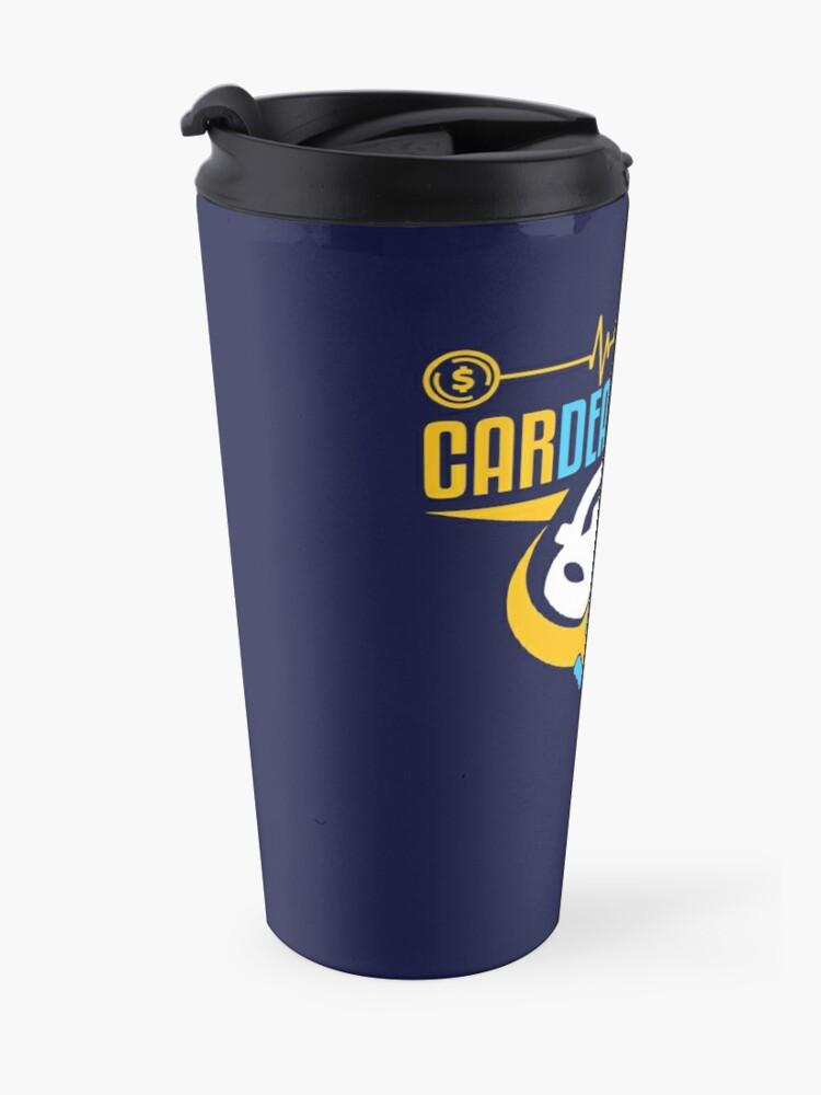 Alternate view of Car Salesman Cardealologist Travel Mug