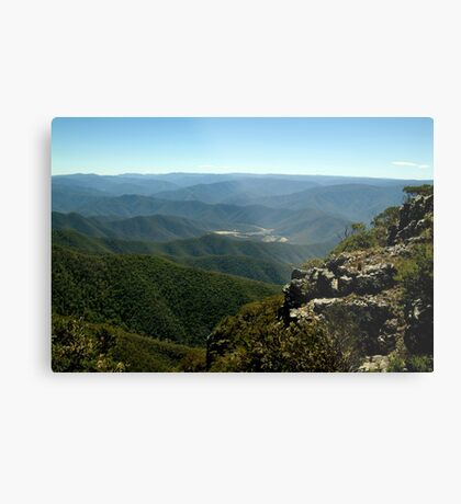 Billy Goat Bluff Track,Victorian High Country Metal Print