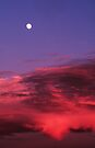 MOONRISE AT SUNSET by Chuck Wickham