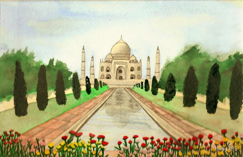 Taj Mahal by melly385