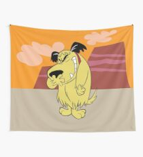 Laughing Muttley Wall Tapestry