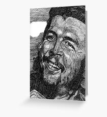 Che Guevera Greeting Card