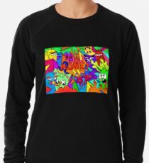 Money DoodleArt Lightweight Sweatshirt