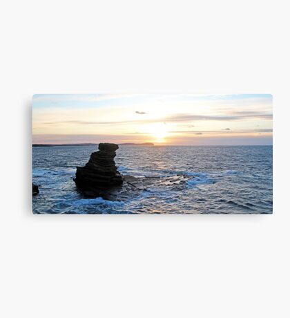 Sunset over Dunnet Head Canvas Print