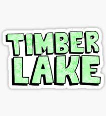 Timberlake Camp Tie Dye Sticker