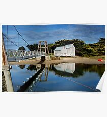 Swing Bridge Lorne Poster